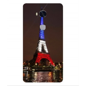 Coque De Protection Tour Eiffel Couleurs France Pour Huawei Honor 5x