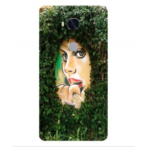 Coque De Protection Art De Rue Pour Huawei Honor 5x