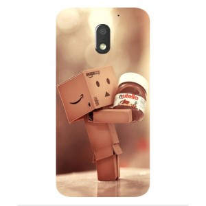 Coque De Protection Amazon Nutella Pour Motorola Moto E3