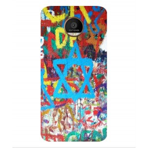 Coque De Protection Graffiti Tel-Aviv Pour Motorola Moto Z Force