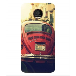 Coque De Protection Voiture Beetle Vintage Motorola Moto Z Force