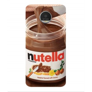 Coque De Protection Nutella Pour Motorola Moto Z Play
