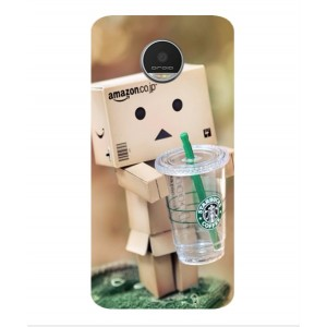 Coque De Protection Amazon Starbucks Pour Motorola Moto Z Play