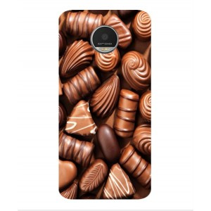 Coque De Protection Chocolat Pour Motorola Moto Z Play