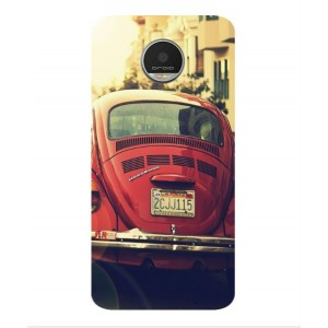 Coque De Protection Voiture Beetle Vintage Motorola Moto Z Play