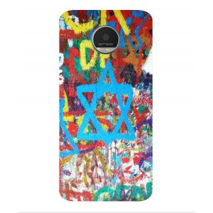Coque De Protection Graffiti Tel-Aviv Pour Motorola Moto Z Play