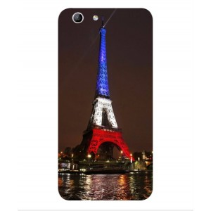 Coque De Protection Tour Eiffel Couleurs France Pour Orange Dive 71