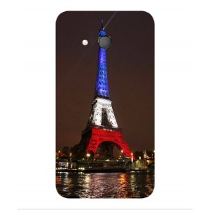 Coque De Protection Tour Eiffel Couleurs France Pour Orange Rise 31