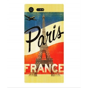 Coque De Protection Paris Vintage Pour Sony Xperia X Compact