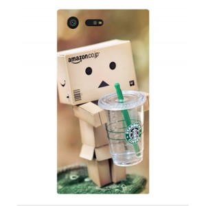 Coque De Protection Amazon Starbucks Pour Sony Xperia X Compact