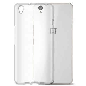 Coque De Protection En Silicone Transparent Pour OnePlus X