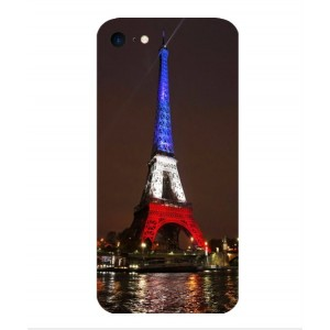Coque De Protection Tour Eiffel Couleurs France Pour iPhone 7