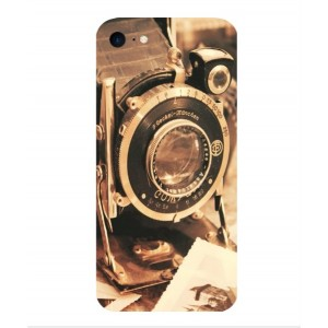 Coque De Protection Appareil Photo Vintage Pour iPhone 7