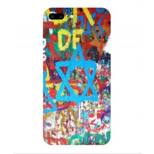 Coque De Protection Graffiti Tel-Aviv Pour iPhone 7 Plus