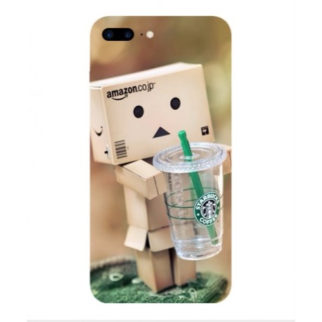 Coque De Protection Amazon Starbucks Pour iPhone 7 Plus