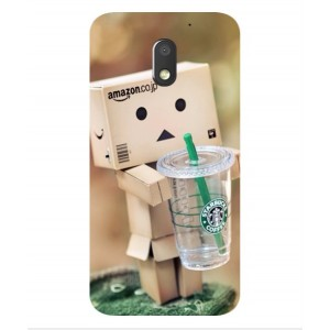 Coque De Protection Amazon Starbucks Pour Motorola Moto E3 Power