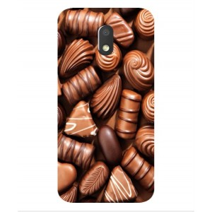 Coque De Protection Chocolat Pour Motorola Moto E3 Power