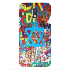 Coque De Protection Graffiti Tel-Aviv Pour Motorola Moto E3 Power