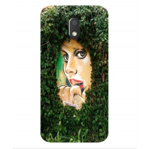 Coque De Protection Art De Rue Pour Motorola Moto E3 Power