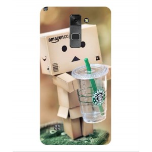 Coque De Protection Amazon Starbucks Pour LG Stylus 2