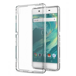 Coque De Protection En Silicone Transparent Pour Sony Xperia XA Ultra