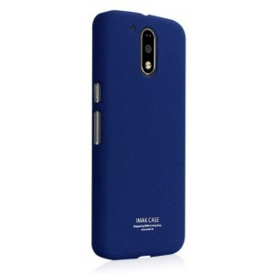 Coque De Protection Rigide Bleu Pour Motorola Moto E3 Power