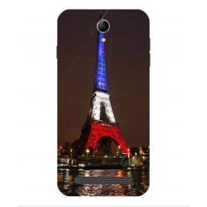 Coque De Protection Tour Eiffel Couleurs France Pour Acer Liquid Z6