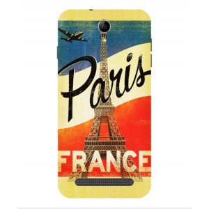 Coque De Protection Paris Vintage Pour Acer Liquid Z6