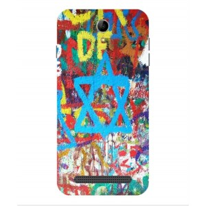 Coque De Protection Graffiti Tel-Aviv Pour Acer Liquid Z6