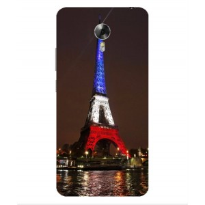 Coque De Protection Tour Eiffel Couleurs France Pour Acer Liquid Z6 Plus