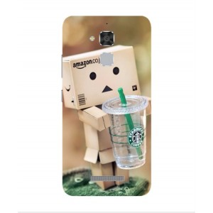 Coque De Protection Amazon Starbucks Pour Asus Zenfone 3 Max ZC520TL