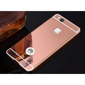 Protection Bumper Rose Pour Huawei P9 Lite