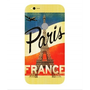 Coque De Protection Paris Vintage Pour Google Pixel