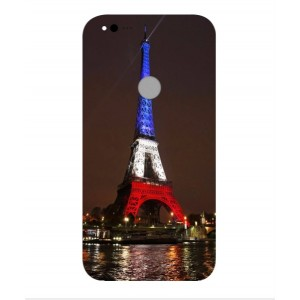 Coque De Protection Tour Eiffel Couleurs France Pour Google Pixel XL