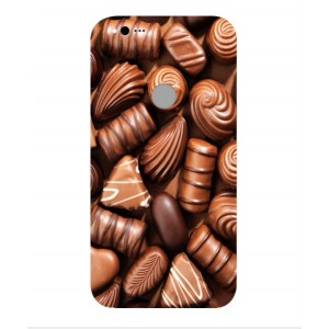 Coque De Protection Chocolat Pour Google Pixel XL