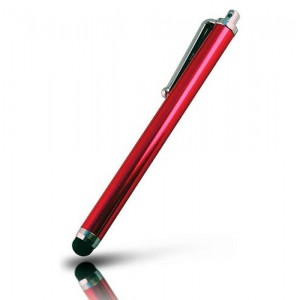 Stylet Tactile Rouge Pour Sony Xperia M2