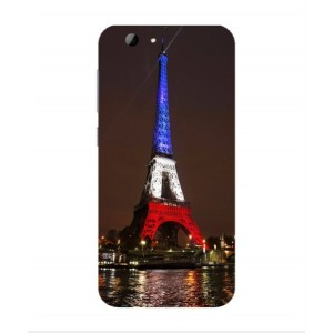 Coque De Protection Tour Eiffel Couleurs France Pour HTC One A9s