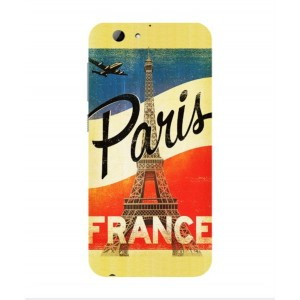 Coque De Protection Paris Vintage Pour HTC One A9s