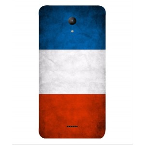 Coque De Protection Drapeau De La France Pour Wiko U-feel Fab