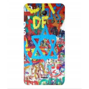 Coque De Protection Graffiti Tel-Aviv Pour Wiko U-feel Fab