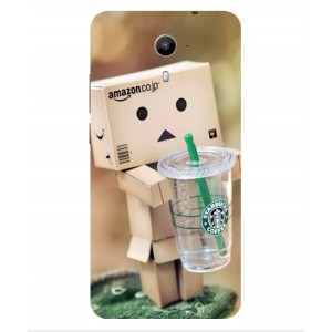 Coque De Protection Amazon Starbucks Pour Wiko U-Feel Prime