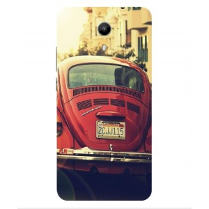 Coque De Protection Voiture Beetle Vintage Wiko U-Feel Prime