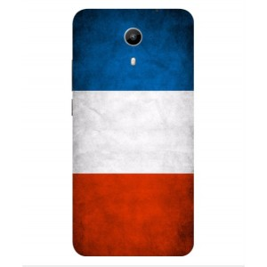 Coque De Protection Drapeau De La France Pour Wiko U-Feel Prime