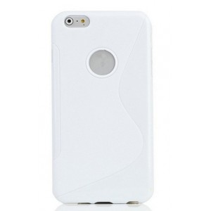 Coque De Protection En Silicone Blanc Pour iPhone 7