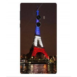 Coque De Protection Tour Eiffel Couleurs France Pour Xiaomi Mi Mix