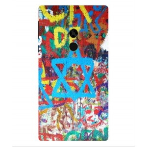 Coque De Protection Graffiti Tel-Aviv Pour Xiaomi Mi Mix