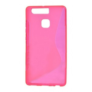 Coque De Protection En Silicone Rose Pour Huawei Honor 8
