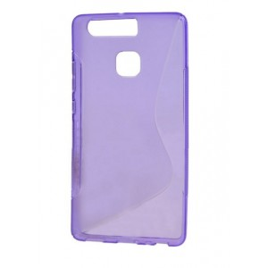 Coque De Protection En Silicone Violet Pour Huawei Honor 8