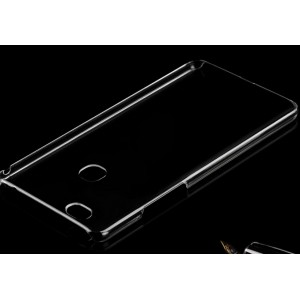Coque De Protection Rigide Transparent Pour Huawei Honor 8