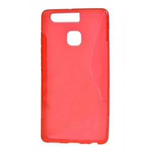 Coque De Protection En Silicone Rouge Pour Huawei Honor 8